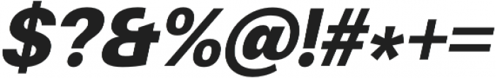 Finis Text Black Italic otf (900) Font OTHER CHARS