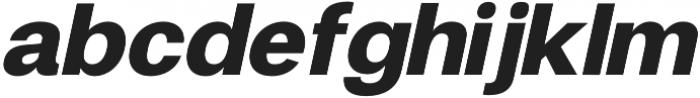 Finis Text Black Italic otf (900) Font LOWERCASE