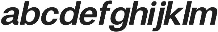 Finis Text Bold Italic otf (700) Font LOWERCASE