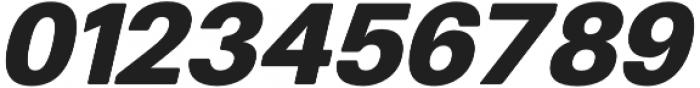 Finis Text Soft Black Oblique otf (900) Font OTHER CHARS