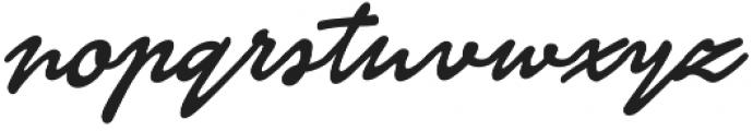 Finition otf (400) Font LOWERCASE