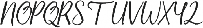 Firdaus Italic otf (400) Font UPPERCASE