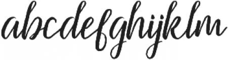 Firdaus Italic otf (400) Font LOWERCASE