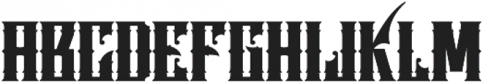 Fire Skin VMF otf (400) Font LOWERCASE