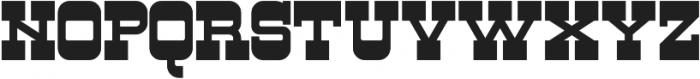 Firebox otf (400) Font UPPERCASE