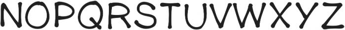 Firecracker ttf (400) Font UPPERCASE