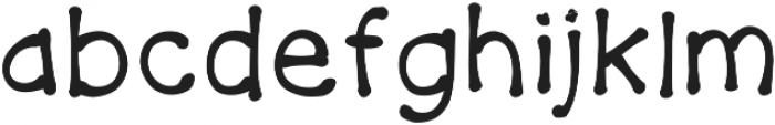 Firecracker ttf (400) Font LOWERCASE