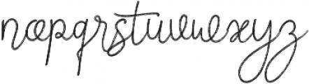 Firefly Regular otf (400) Font LOWERCASE