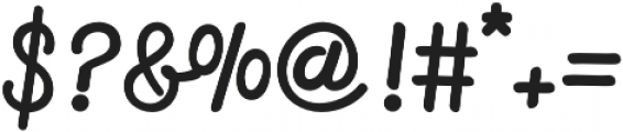 Firly Script otf (400) Font OTHER CHARS