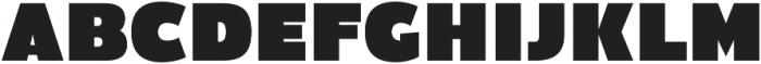 Firm otf (400) Font UPPERCASE