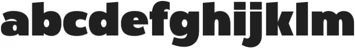 Firm otf (400) Font LOWERCASE