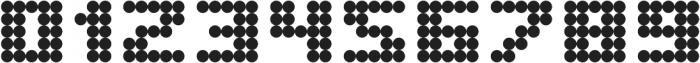 FirsikDotFont otf (400) Font OTHER CHARS