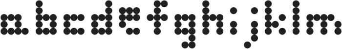 FirsikDotFont otf (400) Font LOWERCASE