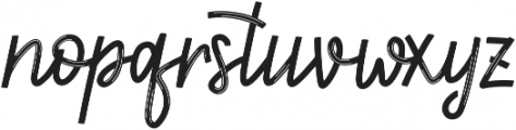 First Love Lined ttf (400) Font LOWERCASE