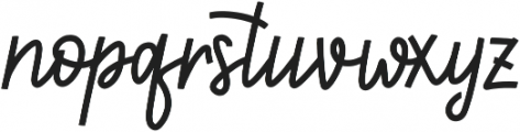 First Love ttf (400) Font LOWERCASE