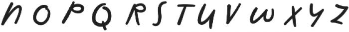 First Text Alt otf (400) Font UPPERCASE