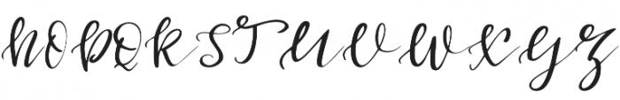 First_Dance otf (400) Font UPPERCASE