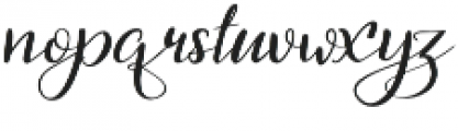 First_Dance otf (400) Font LOWERCASE