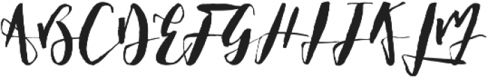 Fish and Sea otf (400) Font UPPERCASE