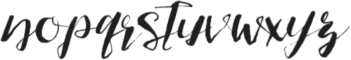 Fish and Sea otf (400) Font LOWERCASE