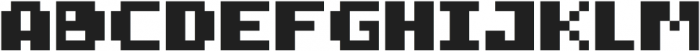 FiveBit Regular ttf (400) Font LOWERCASE