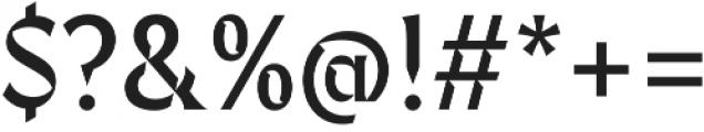 Fixen FY otf (400) Font OTHER CHARS