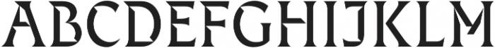 Fixen FY otf (400) Font UPPERCASE