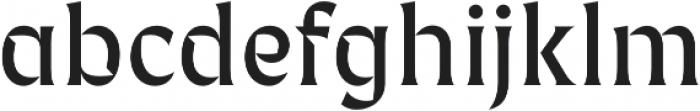 Fixen FY otf (400) Font LOWERCASE