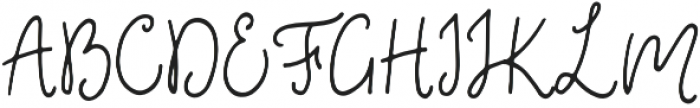 Fixity Regular otf (400) Font UPPERCASE