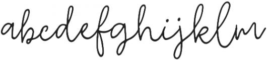 Fixity Regular otf (400) Font LOWERCASE