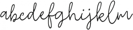 Fixity Regular ttf (400) Font LOWERCASE