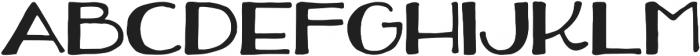 Fizzlebottom Regular otf (400) Font UPPERCASE