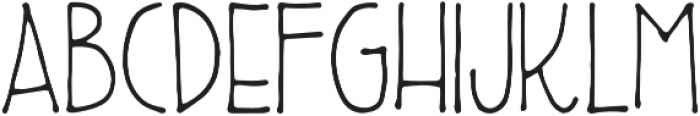 Fizzlebottom Regular otf (400) Font LOWERCASE