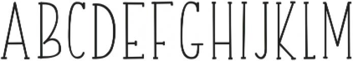 finesse otf (400) Font UPPERCASE