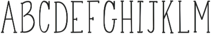 finesse otf (400) Font LOWERCASE