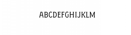 FigueraVariable-BoldCondensed.otf Font LOWERCASE