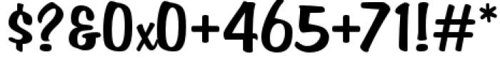 Filmotype Hemlock Font OTHER CHARS