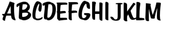 Filmotype Hemlock Font UPPERCASE