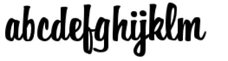 Filmotype Hemlock Font LOWERCASE