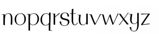 Filmotype MacBeth Font LOWERCASE