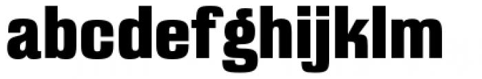 Filmotype Mansfield Font LOWERCASE