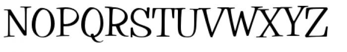 Filmotype Parade Condensed Font UPPERCASE