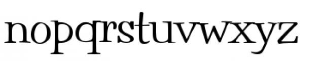 Filmotype Parade Condensed Font LOWERCASE