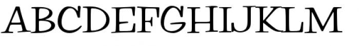 Filmotype Parade Regular Font UPPERCASE