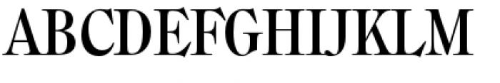 Filmotype Royal Condensed Font UPPERCASE