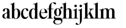 Filmotype Royal Condensed Font LOWERCASE