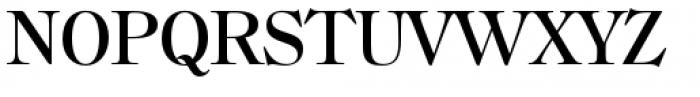 Filmotype Royal Semicondensed Font UPPERCASE