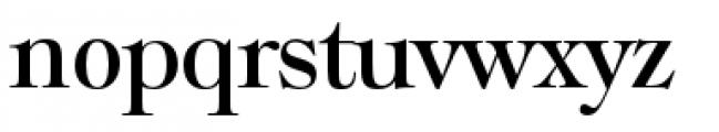 Filmotype Royal Semicondensed Font LOWERCASE