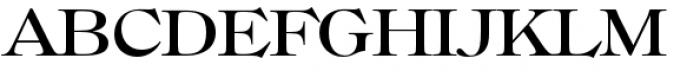 Filmotype Royal Semiexpanded Font UPPERCASE