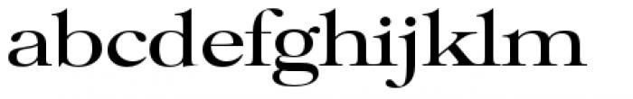 Filmotype Royal Semiexpanded Font LOWERCASE